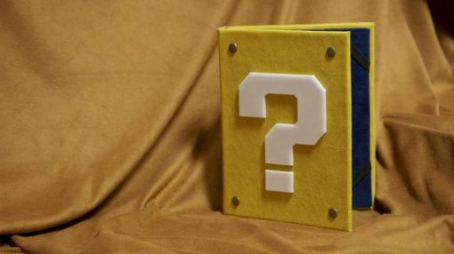 Mario Question Block Cover iPad / Tablet / Kindle / eReader Cover