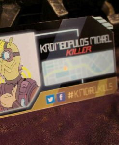 Krombopulos Michael ID Badge & Business Card - Inspired by Rick and Morty