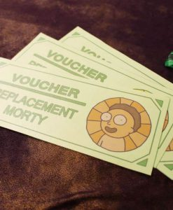 Rick and Morty Replacement Morty Voucher Certificate