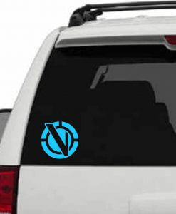 Vindicator's Symbol Vinyl Decal - Inspired by Rick and Morty