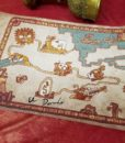 Road to El Dorado Map - Cloth Map Scroll of Tulio and Miguel
