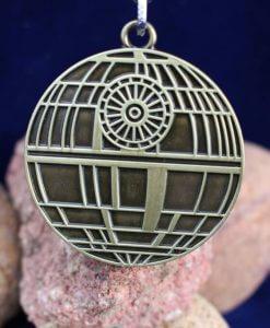 Star Wars Death Star (Deathstar) Antique Gold Keychain