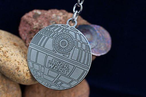 Star Wars Death Star (Deathstar) Silver Keychain
