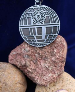 Star Wars Death Star (Deathstar) Silver Keychain