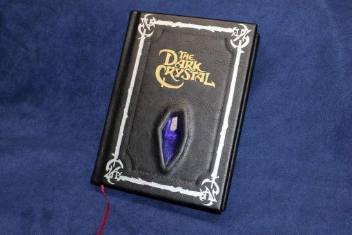 The Dark Crystal Leather Bound Book - Replica (Inspired by The Dark Crystal)