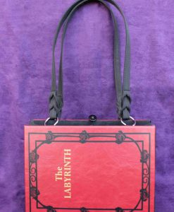 The Labyrinth Sarah's Book Hand Bag - Custom Book Replica / Clutch / Purse / Satchel