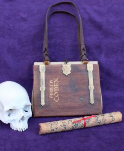 The Pirate's Code Pirata Codex Hand Bag - Custom Book Replica / Clutch / Purse / Satchel (Inspired by Pirates of the Caribbean)