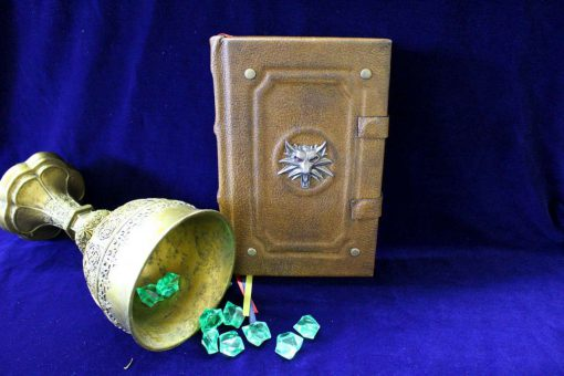 Sorceress Triss Marigold Spell Book Replica Journal - Kindle / iPad / eReader Tablet Cover (Inspired by the Witcher)