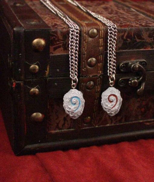 World of WarCraft Inspired Hearthstone Necklace Pendant