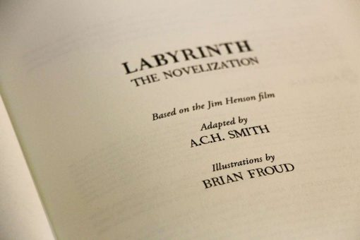The Labyrinth - Sarah's Book Leatherbound Book Replica Collector's Edition