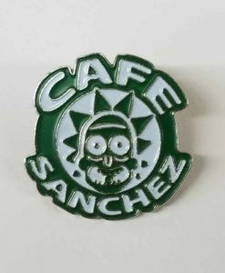 Cafe Sanchez Enamel Pin - Citadel of Ricks Rick Sanchez Morty Smith Starbucks 2