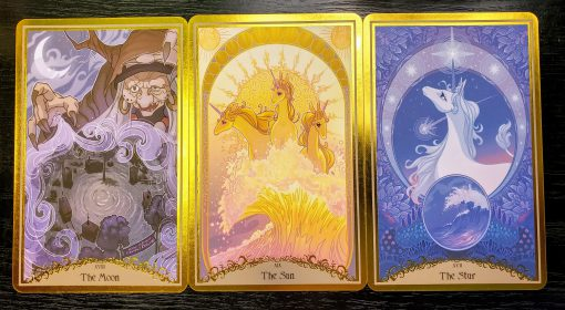 Last Unicorn Tarot Deck Cards