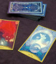 The Last Unicorn Official Licensed Illustrated Tarot Deck Peter S Beagle Schmendrick Molly Grue Red Bull 3