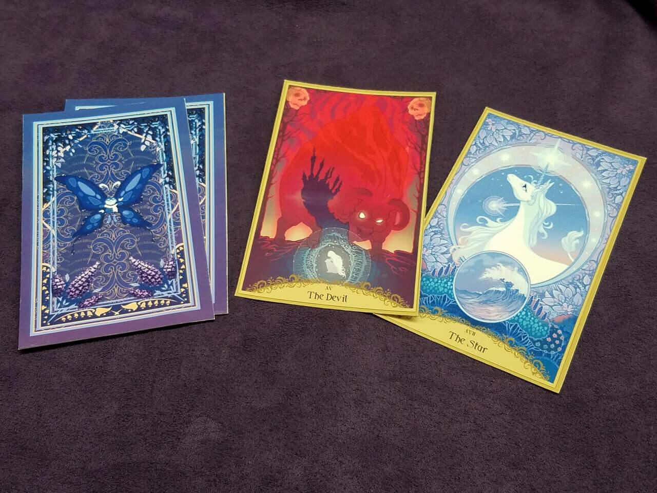 The Last Unicorn Official Licensed Tarot amp Oracle Card