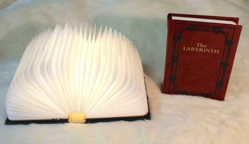 Fantasy Book Replica Lantern Lamp Light