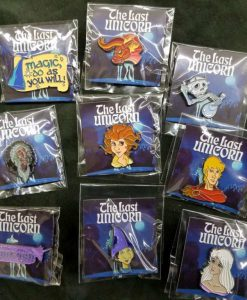 Last Unicorn Official Licensed Merchandise Enamel Pin Schmendrick Molly Red Bull King Haggard Prince Lir Peter S Beagle 2