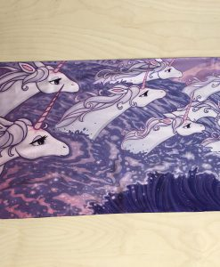 The Last Unicorn Silk Scarf Peter S Beagle Ocean Unicorns in the Sea Scarves 16