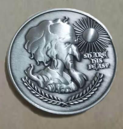 Last Unicorn King Haggard Peter S Beagle Coin 6