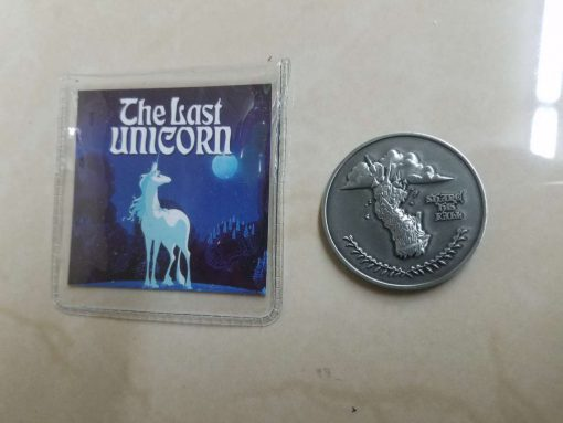 Last Unicorn King Haggard Peter S Beagle Coin 3