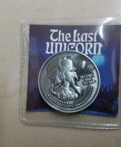 Last Unicorn King Haggard Peter S Beagle Coin 4