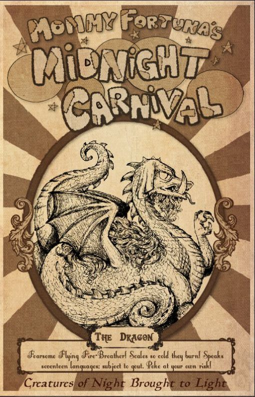 The Last Unicorn Mommy Fortunas Midnight Carnival Posters Unicorn Harpy Satyr Dragon5