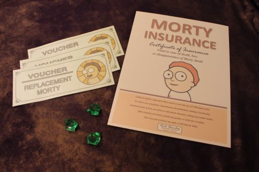 Rick and Morty Citadel of Ricks Morty Insurance Policy Justin Roiland Dan Harmon 22