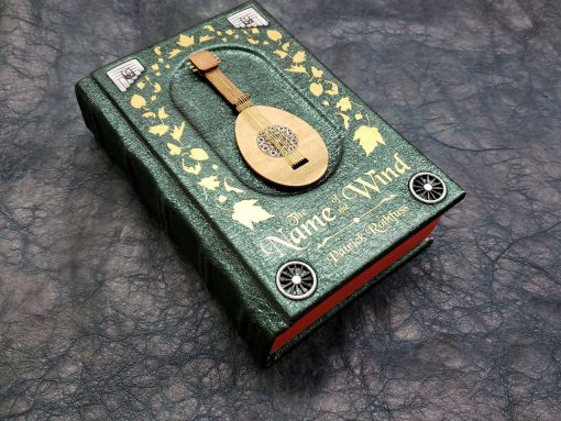 The Name of the Wind Patrick Rothfuss Leatherbound Leather Book Collectors Edition 1