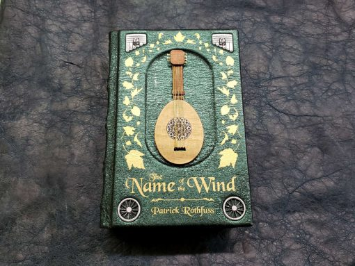 The Name of the Wind Patrick Rothfuss Leatherbound Leather Book Collectors Edition 3