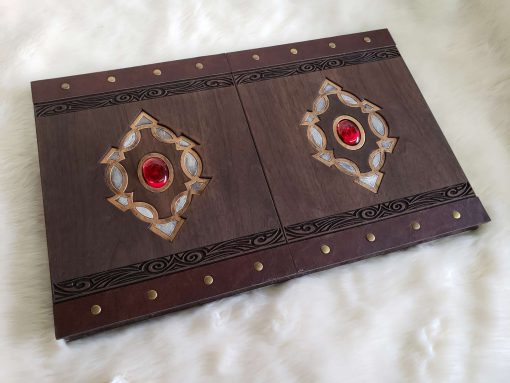Custom Dungeon Master Gamng DnD GM Screen Carved Wooden Magnetic 1