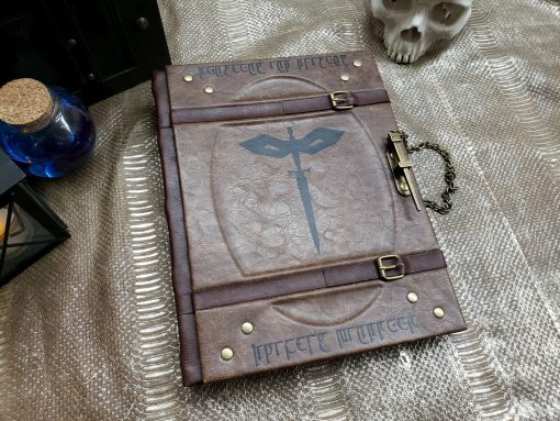 Custom DnD Dungeons and Dragons Leatherbound Book Rebinding 6