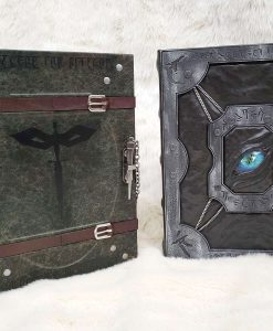 Custom DnD Dungeons and Dragons Leatherbound Book Rebinding 7