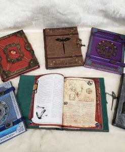 Custom DnD Dungeons and Dragons Leatherbound Book Rebinding 2
