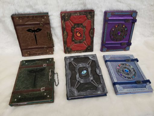 Custom DnD Dungeons and Dragons Leatherbound Book Rebinding 3