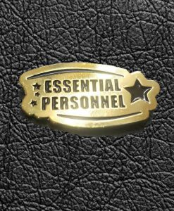 Essential Personnel Enamel Pin 5