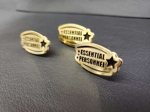 Essential Personnel Enamel Pin 4