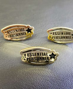 Essential Personnel Enamel Pin 3