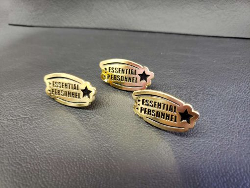 Essential Personnel Enamel Pin 2