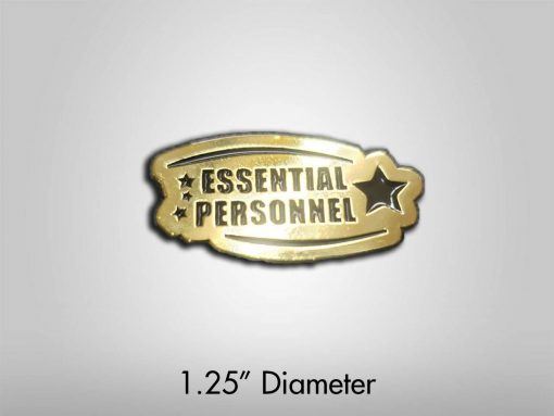Essential Personnel Enamel Pin 1