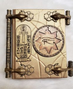 The Mummy Book of the Living Amun Ra Replica Imhotep Egypt Prop 8