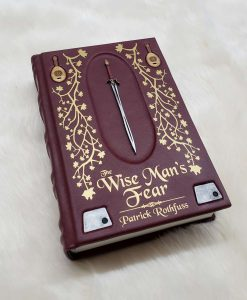 The Wise Mans Fear Patrick Rothfuss Leatherbound Leather Book Collectors Edition 22