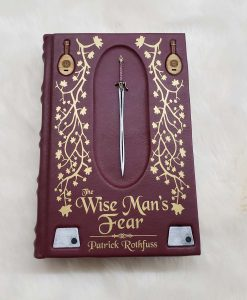 The Wise Mans Fear Patrick Rothfuss Leatherbound Leather Book Collectors Edition 32